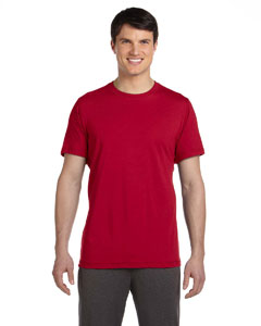 Sp Scarlet Red Men's Dri-Blend Short-Sleeve T-Shirt