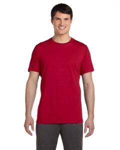 Sp Scarlet Red Men's Dri-Blend Short-Sleeve T-Shirt