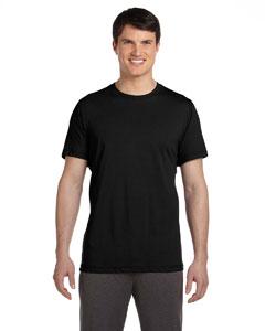 Black Men's Dri-Blend Short-Sleeve T-Shirt
