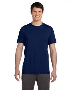 Dark Navy Men's Dri-Blend Short-Sleeve T-Shirt