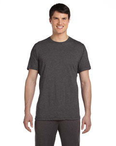 Dark Grey Heather Men's Dri-Blend Short-Sleeve T-Shirt
