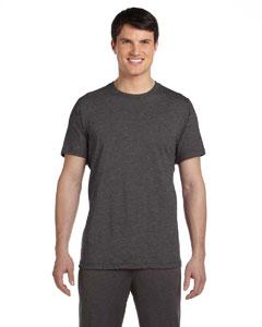Dark Grey Heather Men's Dri-Blend Short-Sleeve T-Shirt