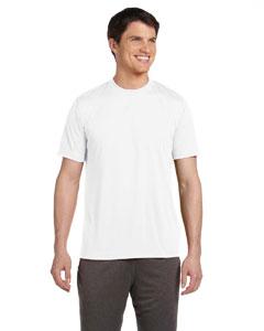 White Unisex Performance Short-Sleeve T-Shirt