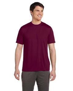 Sport Maroon Unisex Performance Short-Sleeve T-Shirt