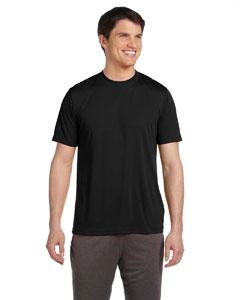 Black Unisex Performance Short-Sleeve T-Shirt