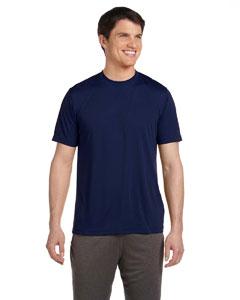Dark Navy Unisex Performance Short-Sleeve T-Shirt