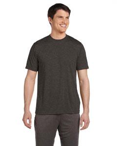 Dk Grey Heather Unisex Performance Short-Sleeve T-Shirt