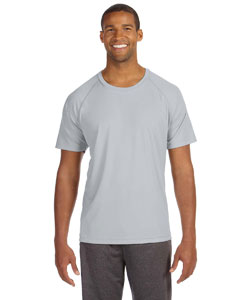 Sport Silver Men's Performance Short-Sleeve Raglan T-Shirt