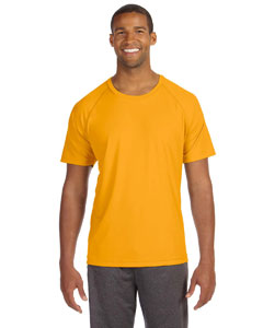 Sport Ath Gold Men's Performance Short-Sleeve Raglan T-Shirt