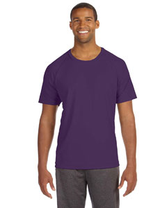 Sport Purple Men's Performance Short-Sleeve Raglan T-Shirt