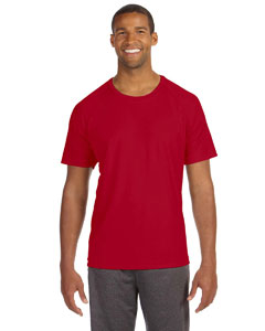 Sport Red Men's Performance Short-Sleeve Raglan T-Shirt