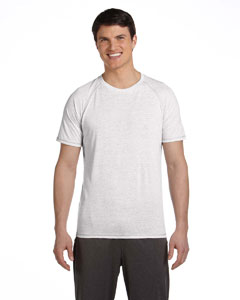 White Hthr Trblnd Men's Performance Triblend Short-Sleeve T-Shirt