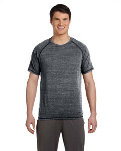 Grey Hthr Trblnd Men's Performance Triblend Short-Sleeve T-Shirt