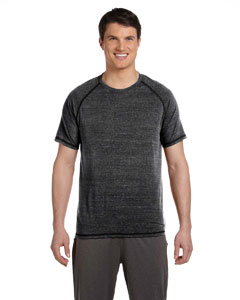 Solid Black Trblnd Men's Performance Triblend Short-Sleeve T-Shirt