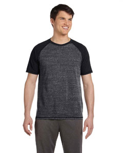 Gry Htr/chcl Htr Tri Men's Performance Triblend Short-Sleeve T-Shirt