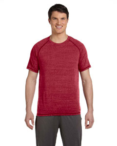 Red Hthr Trblnd Men's Performance Triblend Short-Sleeve T-Shirt