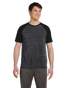 Chcl Htr/sld Blk Tri Men's Performance Triblend Short-Sleeve T-Shirt