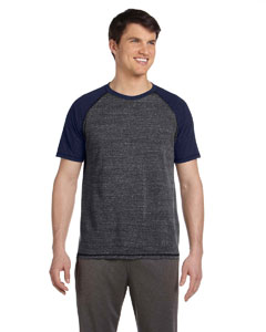 Gry Htr/nvy Htr Tri Men's Performance Triblend Short-Sleeve T-Shirt
