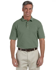 Dill Men's 6 oz. Ringspun Cotton Piqué Short-Sleeve Polo