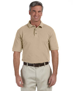 Stone Men's 6 oz. Ringspun Cotton Piqué Short-Sleeve Polo