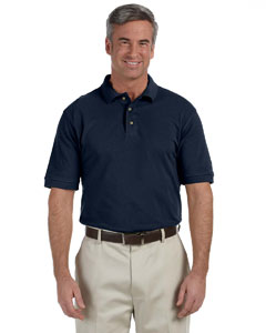 Navy Tall 6 oz. Ringspun Cotton Piqué Short-Sleeve Polo
