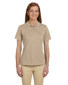 Stone Women's 6 oz. Ringspun Cotton Piqué Short-Sleeve Polo