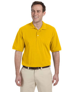 Sunray Yellow Men's 5.6 oz. Easy Blend Polo