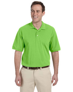 Lime Men's 5.6 oz. Easy Blend Polo