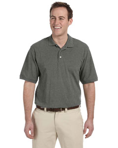 Charcoal Men's 5.6 oz. Easy Blend Polo