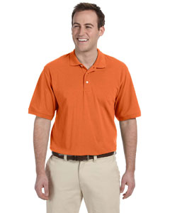 Team Orange Men's 5.6 oz. Easy Blend Polo