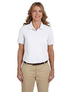 White Women's 5.6 oz Easy Blend Polo