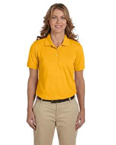 Sunray Yellow Women's 5.6 oz. Easy Blend Polo