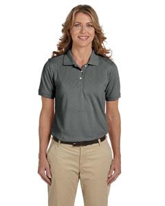 Charcoal Women's 5.6 oz. Easy Blend Polo