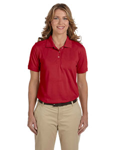 Red Women's 5.6 oz Easy Blend Polo