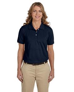 Navy Women's 5.6 oz. Easy Blend Polo