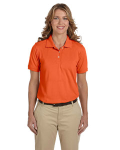 Team Orange Women's 5.6 oz Easy Blend Polo