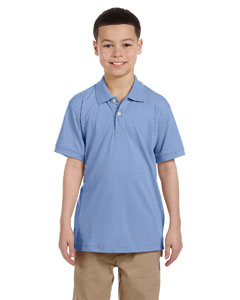 Light College Blue Youth 5.6 oz. Easy Blend™ Polo