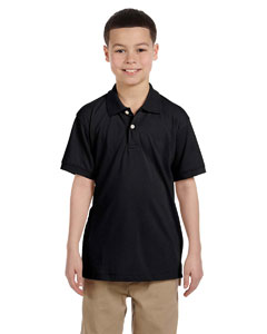 Black Youth 5.6 oz. Easy Blend™ Polo