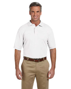 White Men's 5 oz. Blend-Tek Polo