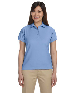 Light College Blue Women's 5 oz. Blend-Tek Polo