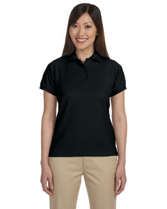 Black Women's 5 oz. Blend-Tek Polo