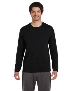 Chrcl Hthr Trblnd Men's Performance Triblend Long-Sleeve T-Shirt