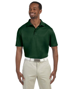Dark Green Men's 4 oz. Polytech Polo