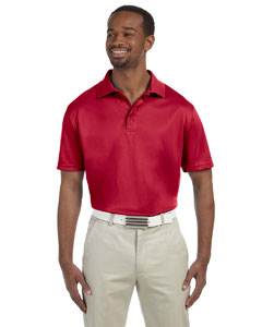 Red Men's 4 oz. Polytech Polo