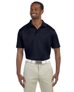 Navy Men's 4 oz. Polytech Polo