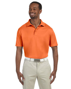 Team Orange Men's 4 oz. Polytech Polo