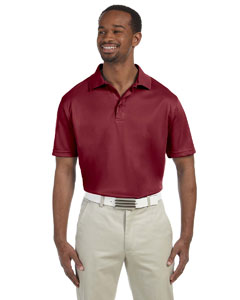 Maroon Men's 4 oz. Polytech Polo