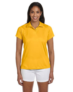 Gold Women's 4 oz. Polytech Polo