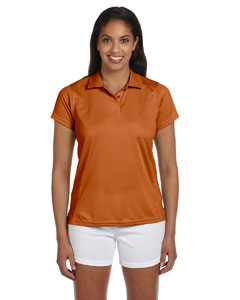 Texas Orange Women's 4 oz. Polytech Polo