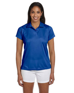 True Royal Women's 4 oz. Polytech Polo